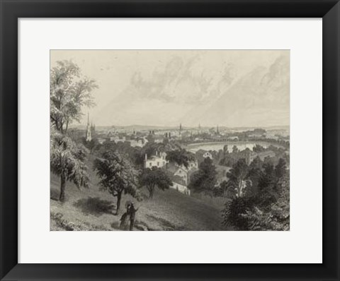 Framed Scenic City Views III Print