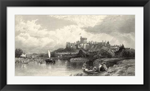 Framed Classical Seaport I Print