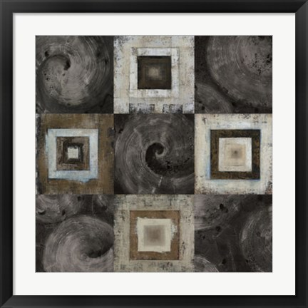 Framed Ice Box Collage Print