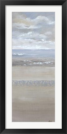 Framed Ocean Calm I Print