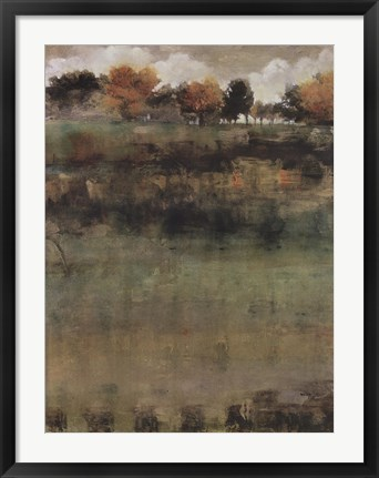 Framed Autumn Love I Print