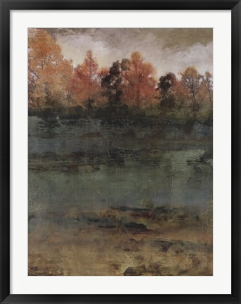 Framed Autumn Love II Print