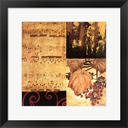Framed Autumn Waltz II Print