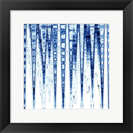 Framed Icicles Print