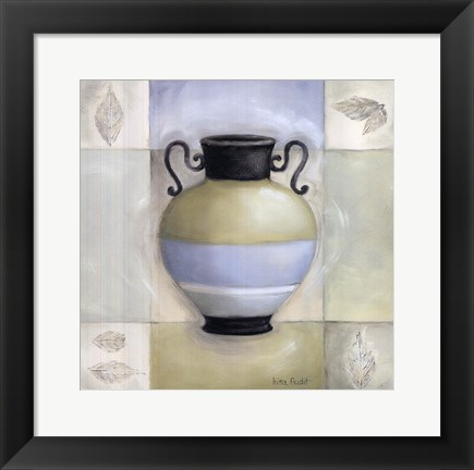 Framed Decorative Urn II Print