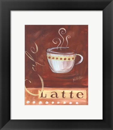 Framed Coffee Cafe I Print