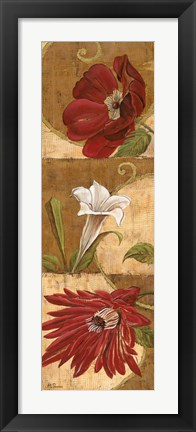 Framed Floral Breeze II Print