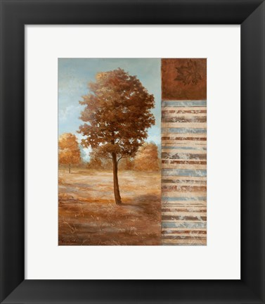 Framed Autumn Aire II Print