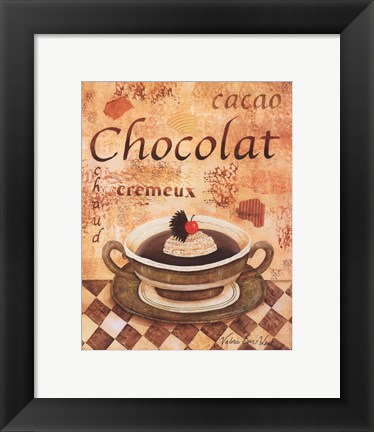 Framed Cacao Chocolat Print
