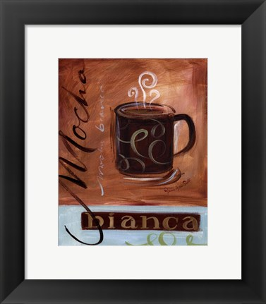 Framed Coffee Cafe IV Print