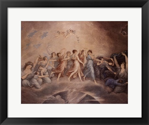 Framed Dance of the Fairies Print