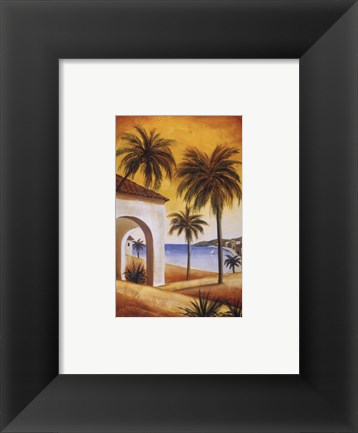 Framed Key West Breeze I Print