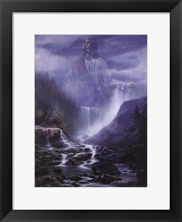 Framed Living Waters Print