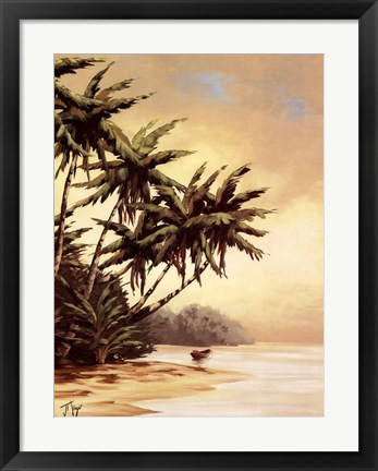 Framed Tropic II Print