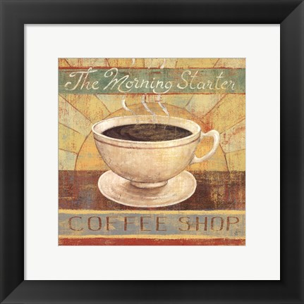 Framed Fresh Brew II Print