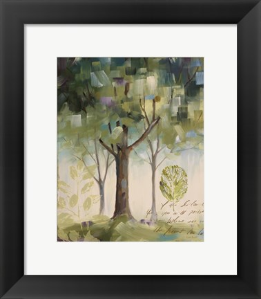 Framed Hopes & Greens III Print