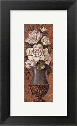 Framed Courtly Roses II - petite Print