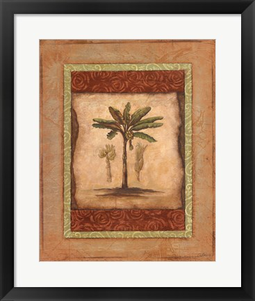Framed Palm Botanical Study I - mini Print