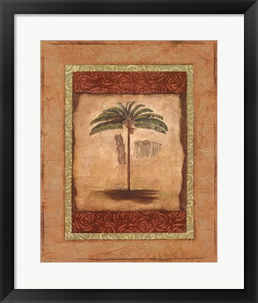 Framed Palm Botanical Study II - mini Print
