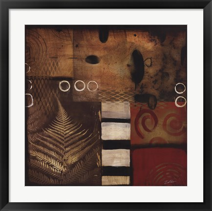 Framed Industrial Nature II Print