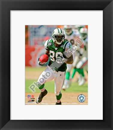 Framed Jerricho Cotchery 2008 Action Print