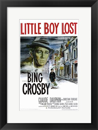 Framed Little Boy Lost Print