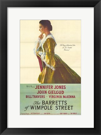 Framed Barretts of Wimpole Street Print