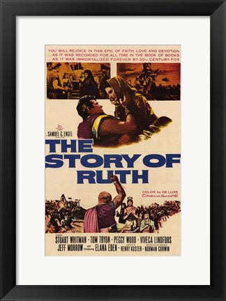Framed Story of Ruth Print