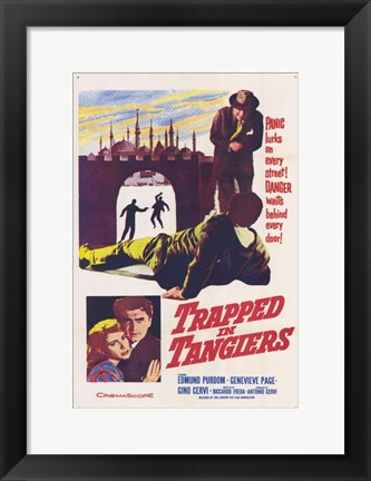 Framed Trapped in Tangiers Print