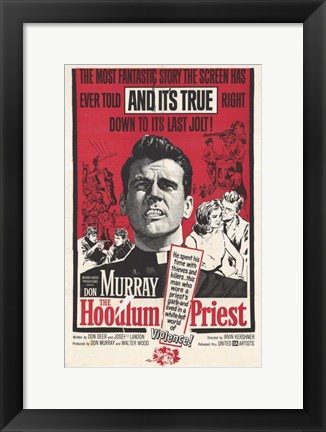 Framed Hoodlum Priest Print