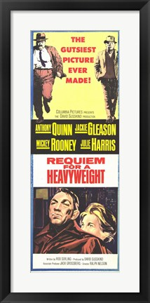 Framed Requiem for a Heavyweight Anthony Quinn Print