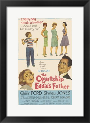 Framed Courtship of Eddie's Father Print