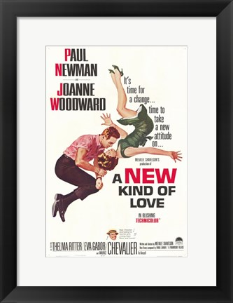 Framed New Kind of Love Print