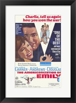 Framed Americanization of Emily Print