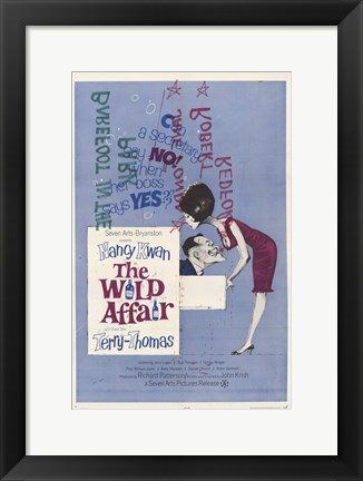 Framed Wild Affair Print