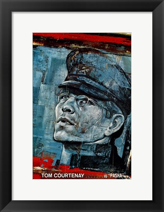 Framed Doctor Zhivago - Tom Courtenay as Pasha Print