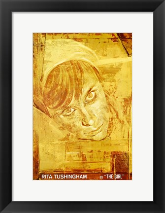 Framed Doctor Zhivago - Rita Tushingham as The Girl Print