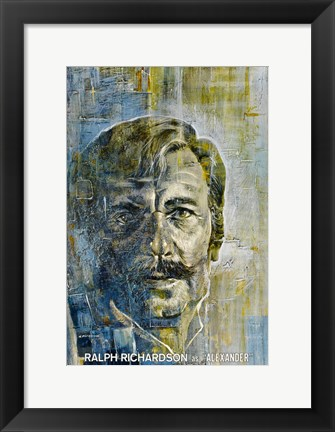 Framed Doctor Zhivago - Ralph Richardson as Alexander Print