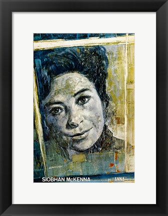 Framed Doctor Zhivago - Siobhan McKenna as Anna Print