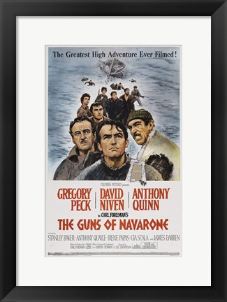 Framed Guns of Navarone Print