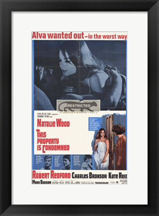 Framed This Property Is Condemned Natalie Wood Print
