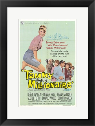 Framed Tammy and the Millionaire Print