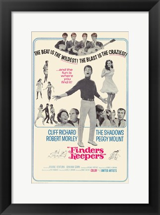 Framed Finders Keepers Print