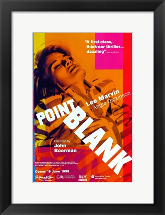 Framed Point Blank Angie Dickinson Print