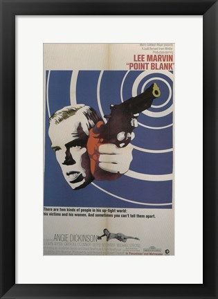 Framed Point Blank Bull's Eye Print