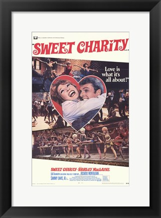 Framed Sweet Charity Print
