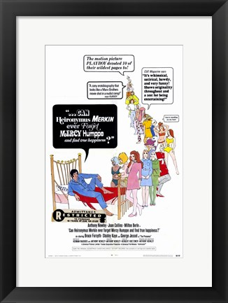 Framed Can Heironymus Merkin Ever Forget Mercy Humppe and Find True Happiness Print