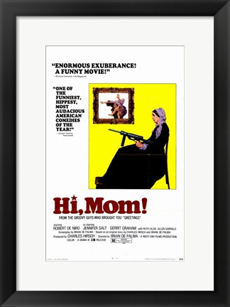 Framed Hi Mom! Print