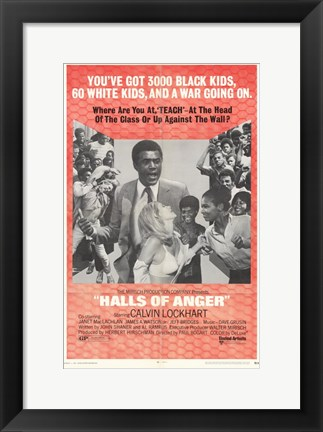 Framed Halls of Anger Print