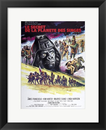Framed Beneath the Planet of the Apes Print